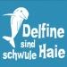 Schwule Delfine